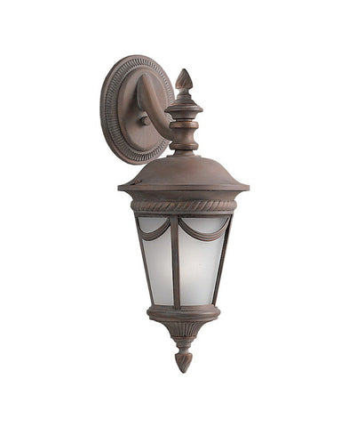 Kichler Lighting 39032 OB One Light Exterior Outdoor Wall Mount in Olde Brick Finish - Quality Discount Lighting