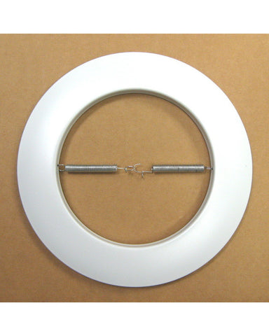 Epiphany 400200 WH Set of 12 Six Inch White Open Recessed Can Trims that Works with HALO - Quality Discount Lighting