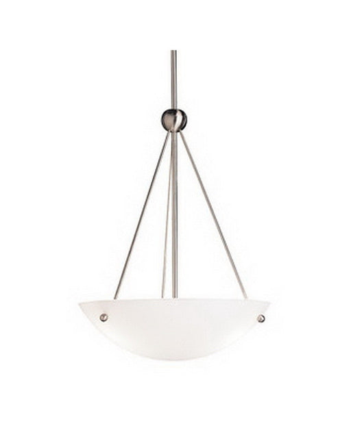 Kichler Lighting 2752 NIFL Family Spaces Collection One Light Energy Efficient Circline Fluorescent Pendant Chandelier in Brushed Nickel Finish - Quality Discount Lighting