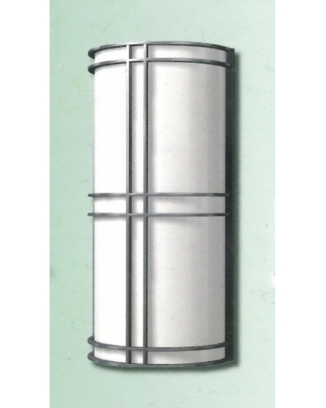 """Epiphany Lighting 103507 BN - EB138-26 Two Light 18"""" Energy Efficient Fluorescent Indoor Outdoor Wall Mount in Brushed Nickel Finish"""