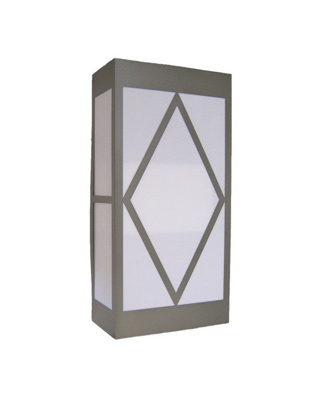 """Epiphany Lighting 103534 BN - EB138-26 Two Light 24"""" Energy Efficient Fluorescent Indoor Outdoor Wall Mount in Brushed Nickel Finish"""