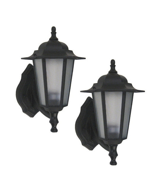 Epiphany Lighting 104277 BK - 6088 TWO PACK One Light Cast Aluminum Outdoor Exterior Wall Mount in Black Finish