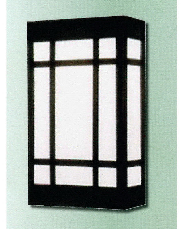 """Epiphany Lighting 103530 ORB - EB138-26 Two Light 24"""" Energy Efficient Fluorescent Indoor Outdoor Wall Mount in Oil Rubbed Bronze Finish"""