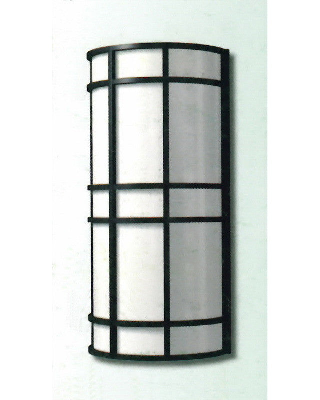 """Epiphany Lighting 103505 ORB - EB138-26 Two Light 18"""" Energy Efficient Fluorescent Indoor Outdoor Wall Mount in Oil Rubbed Bronze Finish"""