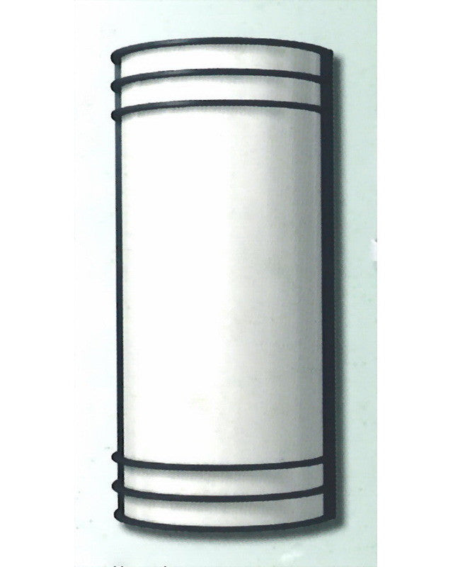 """Epiphany Lighting 103499 ORB - EB138-13 One Light 14"""" Energy Efficient Fluorescent Indoor Outdoor Wall Mount in Oil Rubbed Bronze Finish"""