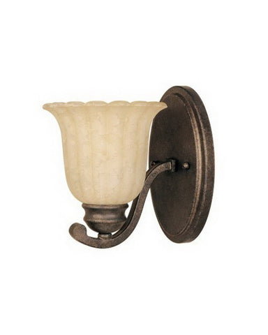 Designers Fountain Lighting ES82601FSN One Light Wall Sconce in Forged Sienna Finish - Quality Discount Lighting