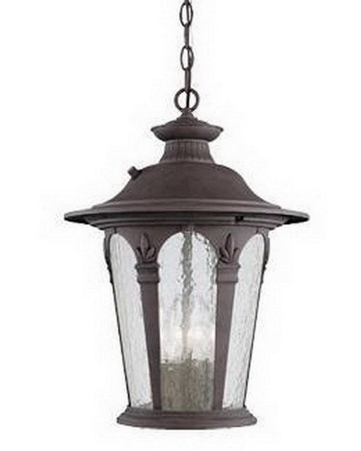 Designers Fountain Lighting 2844 AG Four Light Exterior Outdoor Hanging Lantern in Antique Gold Finish - Quality Discount Lighting
