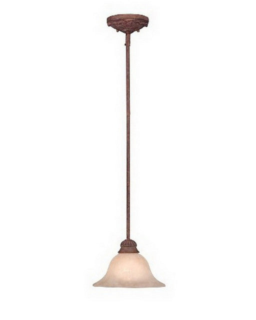 Designers Fountain Lighting 91401 AO One Light Mini Pendant Chandelier in Ancient Oak Finish - Quality Discount Lighting