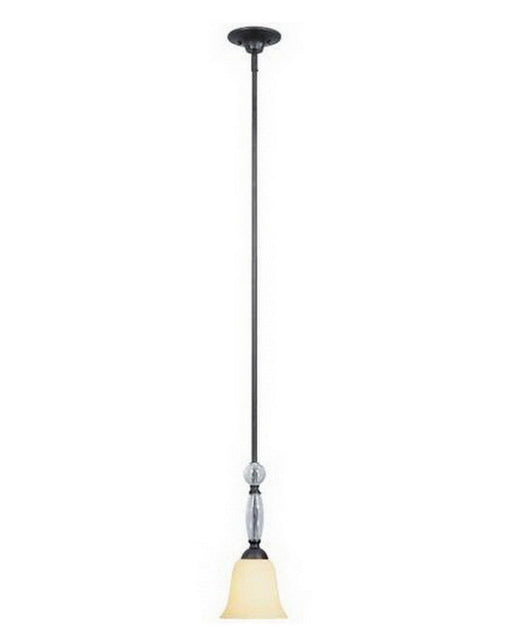 Designers Fountain Lighting 95430 ABP One Light Mini Pendant in Aged Bronze Patina Finish - Quality Discount Lighting