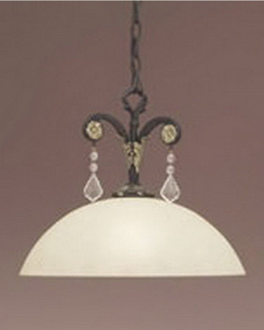 Designers Fountain Lighting 9290 SL One Light Pendant Chandelier in Sable Finish - Quality Discount Lighting