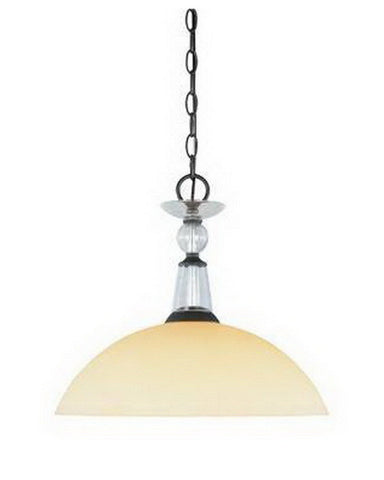 Designers Fountain Lighting 95432 ABP One Light Pendant in Aged Bronze Patina Finish - Quality Discount Lighting