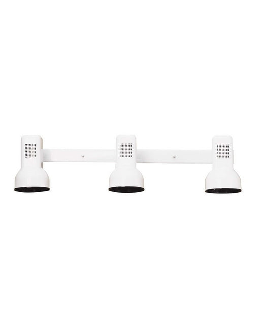 Kichler Lighting CB5123 WH Three Light Track Wall Fixture in White Finish - Quality Discount Lighting