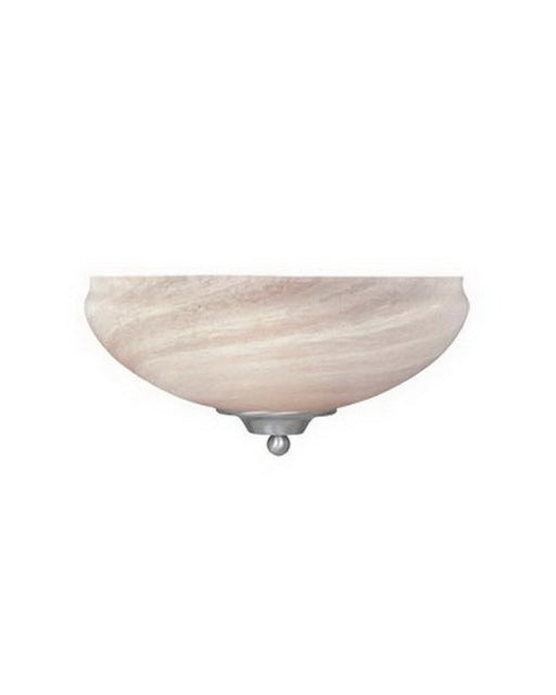 Designers Fountain Lighting 82040 SP Moon Shadow Collection One Light Wall Sconce in Satin Platinum Finish - Quality Discount Lighting