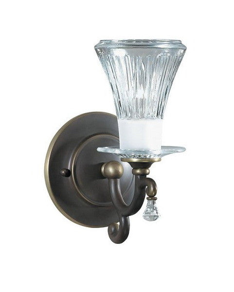 Kichler LIghting 37096 One Light Wall Sconce in Olde Bronze Finish - Quality Discount Lighting