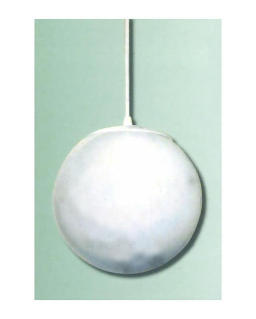 "Epiphany Lighting 102124 WH One Light 10"" Globe Pendant in White Finish - Quality Discount Lighting"