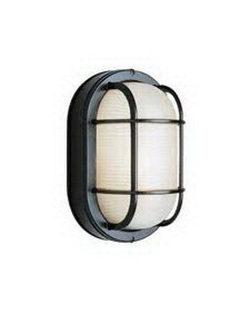 Epiphany Lighting EB836-13 BK Energy Efficient Fluorescent Indoor/Outdoor Wall Sconce in Black Finish - Quality Discount Lighting