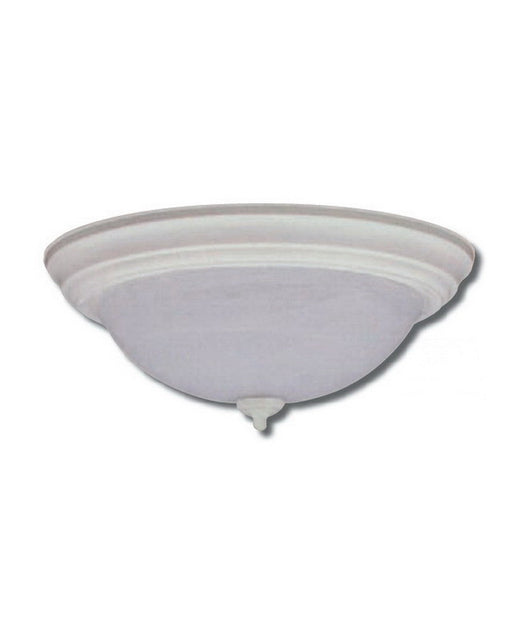 Epiphany lighting escm431 26 wh two light energy saving fluorescent flush mount in white finish