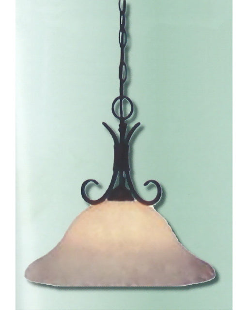 Epiphany Lighting 102608 ORB One Light Pendant Chandelier in Oil Rubbed Bronze Finish - Quality Discount Lighting
