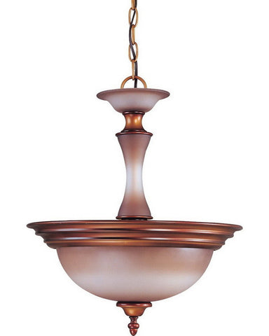 Nuvo Lighting 60-1646 Cornelia Collection Two Light Pendant Chandelier in Newport Copper Finish - Quality Discount Lighting