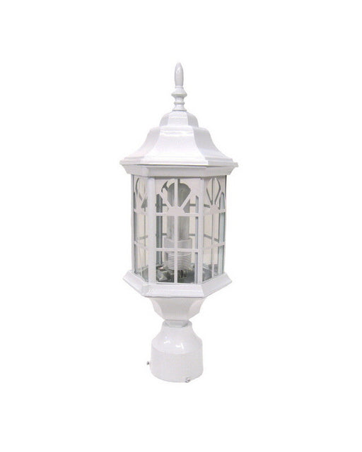 Epiphany Lighting EB494-13WH Exterior Outdoor Energy Efficient Post Lantern in White Finish - Quality Discount Lighting