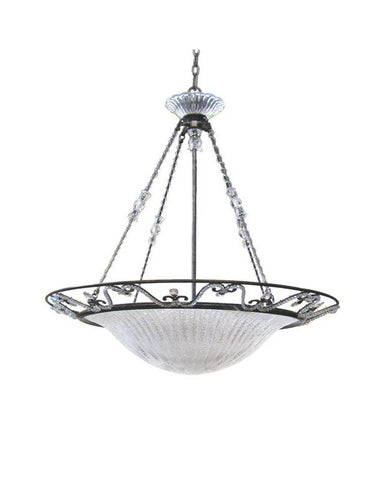 Kalco Lighting 4359 VO Six Light Hanging Pendant Chandelier in Veneto Finish - Quality Discount Lighting