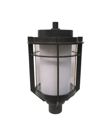 Kalco Lighting 9478IR One Light Exterior Outdoor Post Lantern in Iron Finish - Quality Discount Lighting