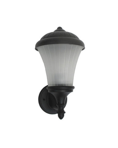 Trans Globe Lighting 4830 BK One Light Outdoor Wall Lantern in Black Finish