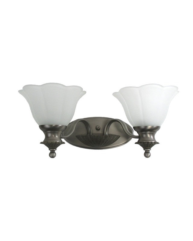Kichler Lighting S TGP Two Light Bath Wall Sconce In Antique - Two light bathroom sconce