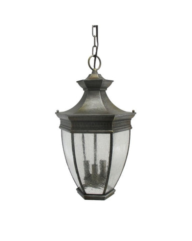 Kichler Lighting 9371 CMB Three Light Outdoor Exterior Hanging Fixture in Cambridge Finish - Quality Discount Lighting
