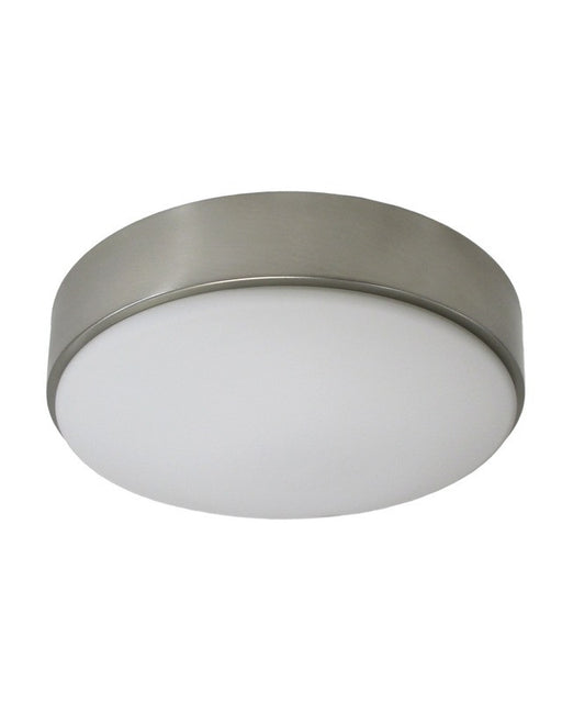 Rainbow lighting 30724 bn two light energy efficent fluorescent flush mount ceiling fixture in brushed nickel