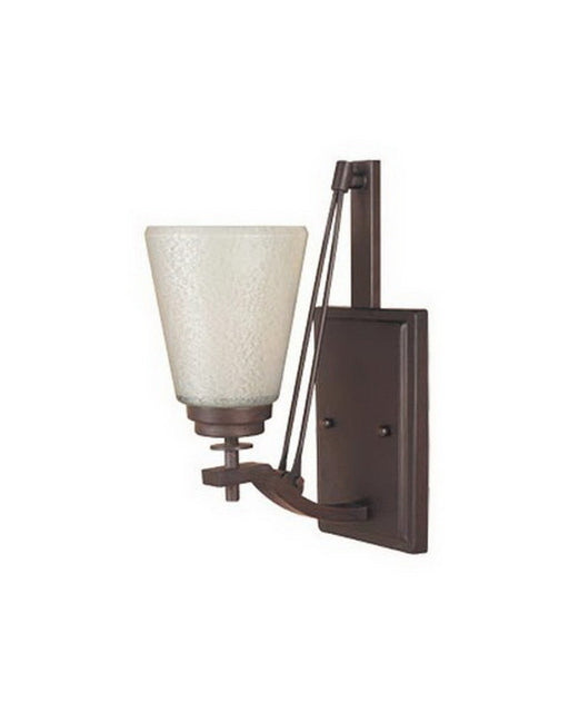 Designers Fountain Lighting 81607 TU Harlow Collection One Light Wall Sconce in Tuscana Bronze Finish - Quality Discount Lighting