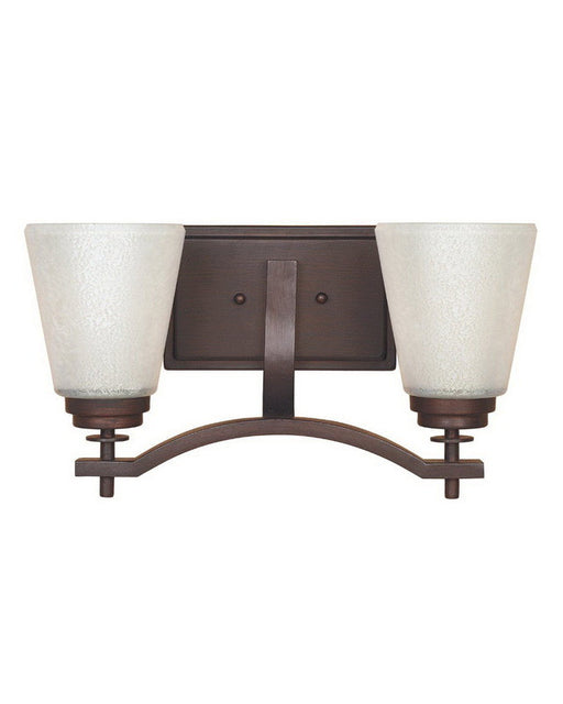 Designers Fountain Lighting 81602 TU Harlow Collection Two Light Bath Vanity Wall Sconce in Tuscana Bronze Finish - Quality Discount Lighting