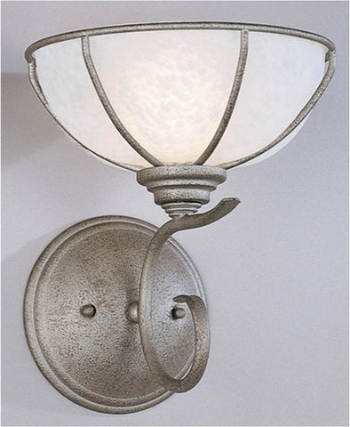 Forecast Lighting F794-65 Segundo Captivo Collection 1 Light Wall Sconce in Silver Rust Finish