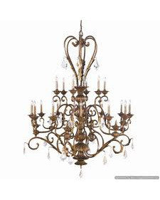 Kichler Lighting 1032 LBZ Anniston Collection Eighteen Light Chandelier in Lincoln Bronze Finish - Quality Discount Lighting