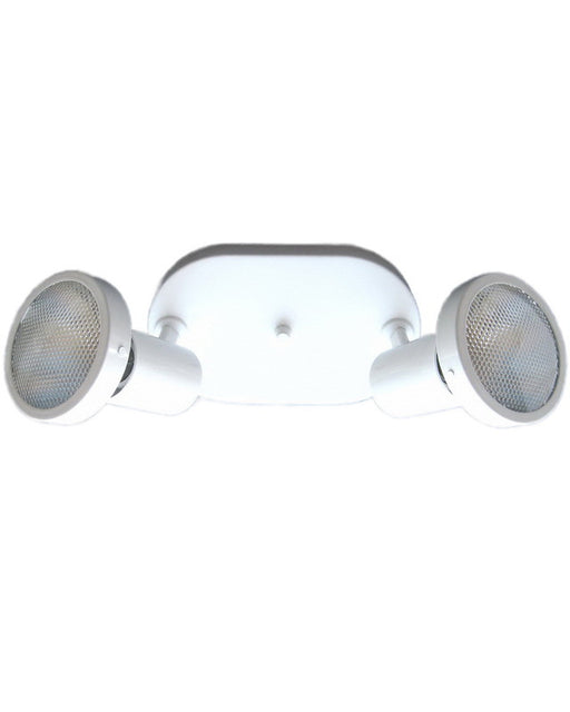 Satco Lighting SF76-427 Duopoint Ceiling Fixture in White Finish - Quality Discount Lighting