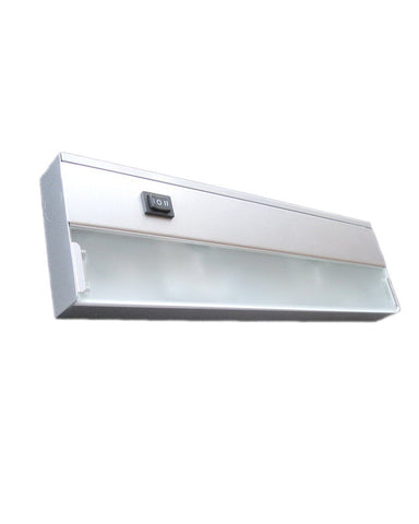 "Thomas Lighting UCX200-42 Xenon 12"" Undercabinet in Matte Nickel Finish - Quality Discount Lighting"
