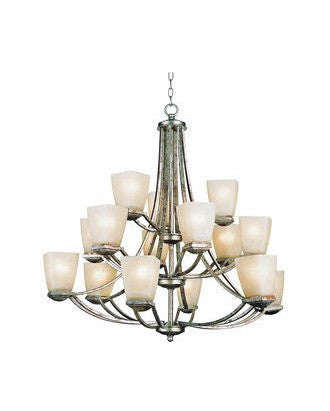 Trans Globe Lighting 9678 GL Fifteen Light Chandelier in Gold Leaf Finish - Quality Discount Lighting