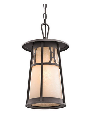 Kichler Lighting 49305 AZ One Light Outdoor Exterior Hanging Fixture in Architectural Bronze Finish - Quality Discount Lighting