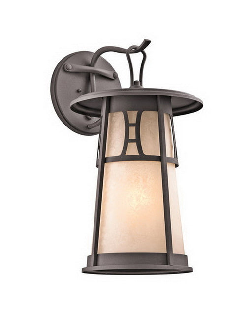 Kichler Lighting 49303 AZ One Light Outdoor Exterior Wall Fixture in Architectural Bronze Finish - Quality Discount Lighting