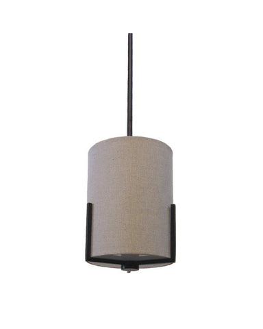 International Lighting 14258-64 One Light Mini Pendant in Old Bronze Finish - Quality Discount Lighting