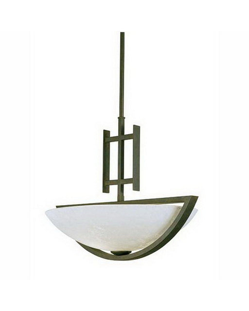 International Lighting 13803-02 Two Light Pendant Chandelier in Artisan Bronze Finish - Quality Discount Lighting