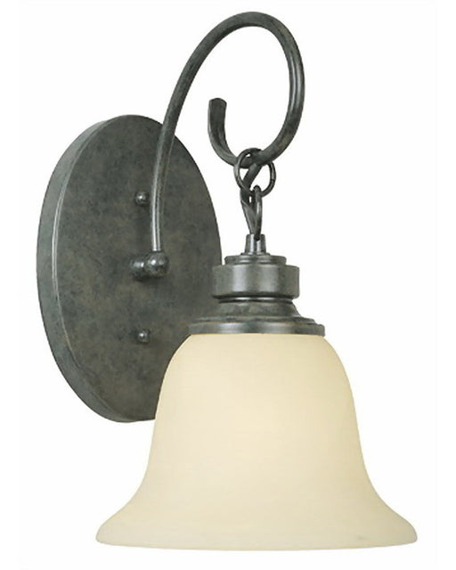 Thomas Lighting SL7697-26 Helene Collection One Light Wall Sconce in Natural Slate Finish