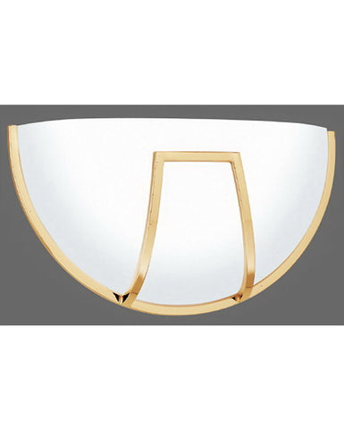 Thomas Lighting TC8571-1 Energy Efficient Fluorescent ADA Wall Sconce in Polished Brass Finish - Quality Discount Lighting