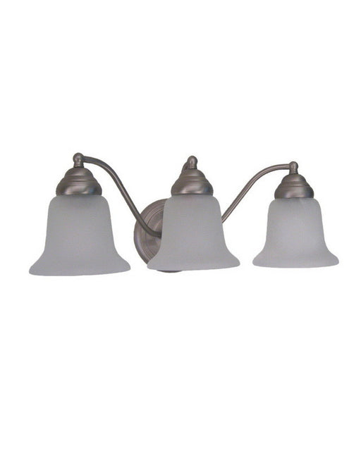Epiphany Lighting UL35123 BN Three Light Bath Wall Fixture in Brushed Nickel Finish