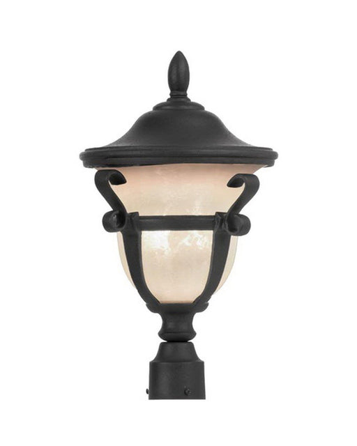 Kalco Lighting 9401 MBPL Energy Efficient Fluorescent Outdoor Exterior Post Lantern in Mayan Bronze Finish - Quality Discount Lighting