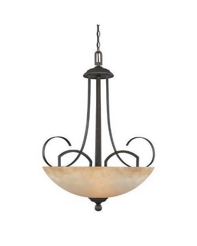 Designers Fountain Lighting 80231 ORB Caledonia Collection Three Light Hanging Pendant Chandelier in Oil Rubbed Bronze  sc 1 st  Quality Discount Lighting & Designers Fountain Lighting 80231 ORB Caledonia Collection Three ... azcodes.com