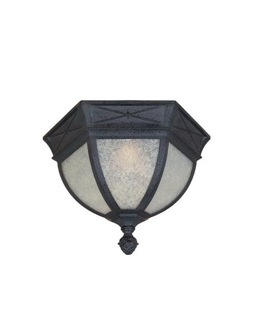 Designers Fountain Lighting 20835 RST Grand Court Collection Two Light Outdoor Exterior Flush Mount Ceiling Fixture in Russet Finish - Quality Discount Lighting