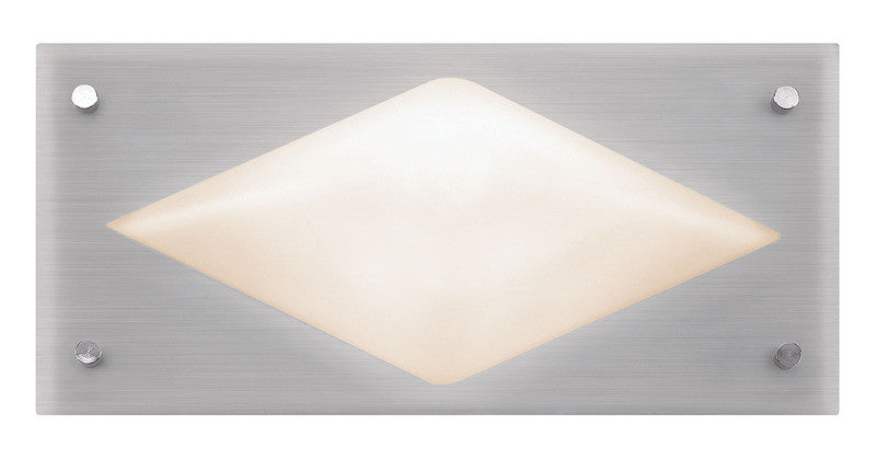 Access Lighting 20433 BS/OPL Contemporary Modern Single Light Ambient Lighting Wall Washer from the Hera Collection