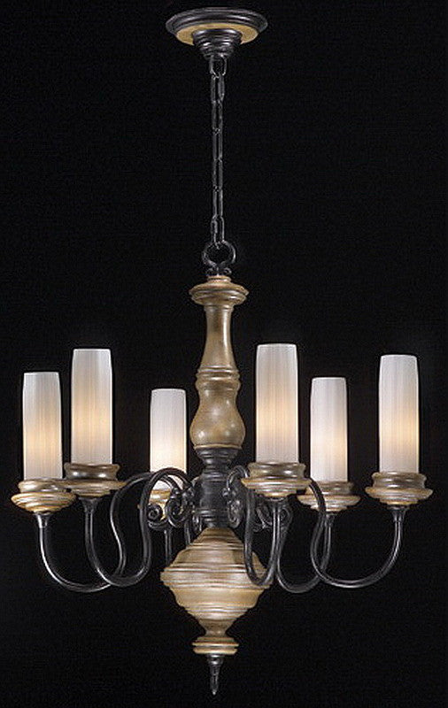 Stylicon by Thomas Lighting AD2900-CAS Lexington Collection 6 Light Chandelier in Colonial Ash Finish - Quality Discount Lighting