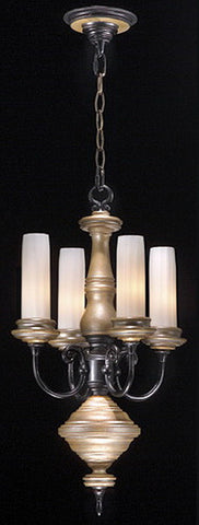 Stylicon by Thomas Lighting AD2904-CAS Lexington Collection 4 Light Mini Chandelier in Colonial Ash Finish - Quality Discount Lighting
